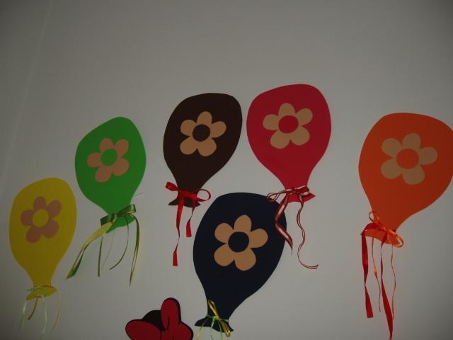 χρωματιστά μπαλονάκια
